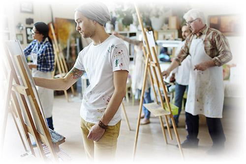 Школа живописи бесплатное обучение переезд на пмж в австралию