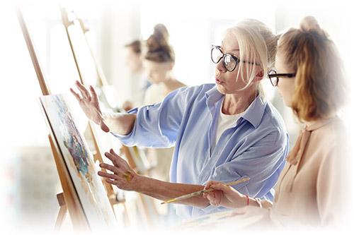 Индивидуальные уроки живописи и рисования